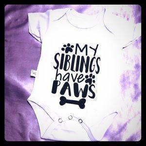 Brand new infant onsie